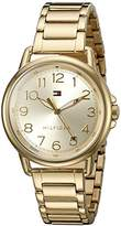 Tommy Hilfiger Women's Casey Quartz -Plated Casual Watch (Model: 1781656)