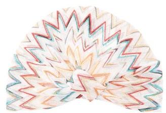 Missoni Mare - Metallic Zig-zag Striped Turban Headband - Womens - Multi