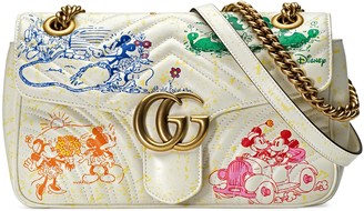 Gucci Online Exclusive Disney x GG Marmont small shoulder bag