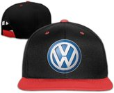 NImao Volkswagen Logo Adjustable Snapback Hip-hop Cap Baseball Hats