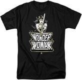 Novelty T-Shirts Wonder Woman Short-Sleeve Graphic Tee