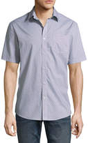 Claiborne Short Sleeve Button-Front Shirt