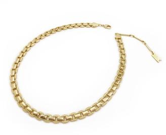 Biko Magnolia Chain Collar Gold