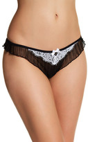 Felina Lacy Pleated Thong
