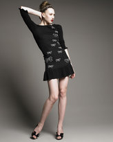 RED Valentino Sweater Dress With Bows