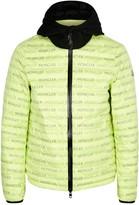 Moncler Dun Neon Green Shell Jacket