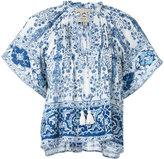 Sea boxy floral print blouse - women - Cotton - 4