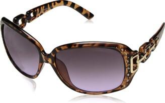 Southpole Women's 1017sp Tsx Non-Polarized Iridium Round Sunglasses