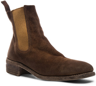 Guidi Stag Chelsea Boots in Brown | FWRD