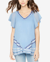 A Pea in the Pod Maternity Embroidered Top