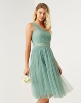 Little Mistress Bridesmaid One Shoulder Dress