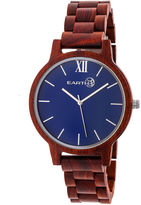Earth Wood Pike Unisex Red Bracelet Watch-Ethew5203