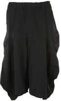 Comme des Garcons Elastic Band Cropped Baggy Trousers