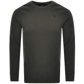G Star Raw Jirgi Long Sleeve T Shirt Green