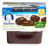 Gerber 1st Foods 2-Pack 2.5 oz. Baby Food Prunes