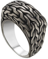 John Hardy Men's Classic Chain Signet Ring