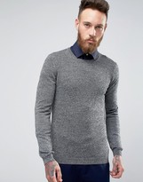 Asos Crew Neck Sweater in Merino Wool