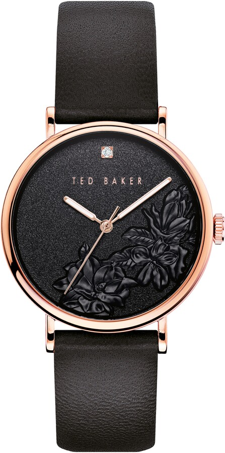 Ted Baker Black Women's Watches | Shop the world's largest collection of  fashion | ShopStyle