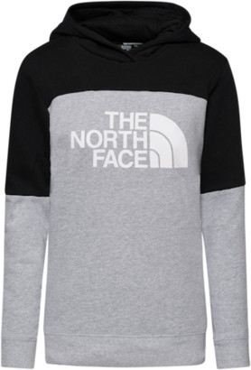 The North Face Metro P/O Hoodie Sweatshirt - Tnf Light Grey Heather / Black