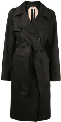 No.21 Double Breasted Trench Coat
