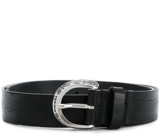 Diesel Buckle Embellished Belt