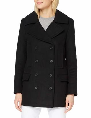 Superdry Women's Wool Pea Coat Jacket