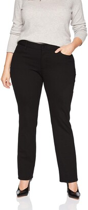 NYDJ Women's Plus Size Ponte Marilyn Straight Leg Pant