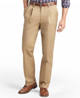 Izod American Pleated Classic-Fit Wrinkle-Free Pleated Chino Pants