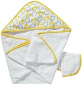 JJ Cole Hooded Towel Set - Yellow Ducks
