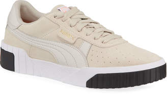 Puma Cali Low-Top Suede Sneakers