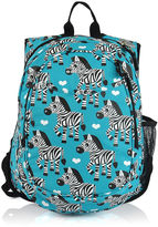 Asstd National Brand Obersee Kids All-in-One Zebra Backpack with Cooler