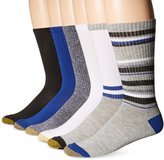 Gold Toe Premier Men's Fashion Sport Crew Sock 6-Pack