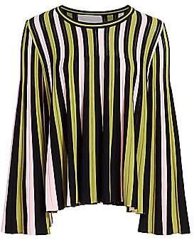 La DoubleJ Women's Edition 20 Accordion Stripe Blouse