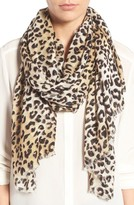 Nordstrom Women's Leopard Print Wrap