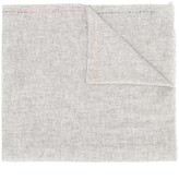 Paul Smith Embroidered Logo Knitted Scarf