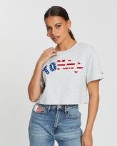 Tommy Jeans US Flag Tee