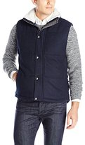 Nautica Men's Wool Melton Vest