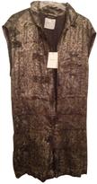 Isabel Marant Khaki Silk Jumpsuits