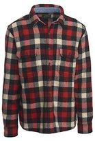 Woolrich Men's Wool Shirt Modern Fit