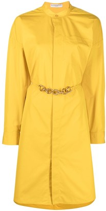 Givenchy Chain Belt Shirtdress