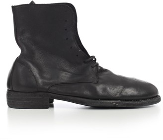 Guidi Lace-Up Ankle Boots