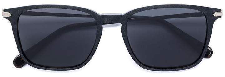 Brioni carved square-frame sunglasses