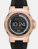 Michael Kors Smartwatch Dylan Black and Rose Gold