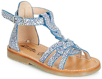 Citrouille et Compagnie JALIPUNE girls's Sandals in Blue