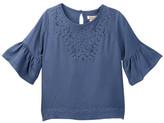Lucky Brand Eyelet Embroidered Shirt (Toddler Girls)