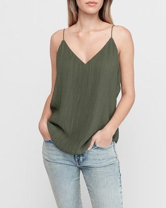 Express Pleated Downtown Cami