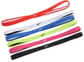 Nike 2.0 6-pk. Swoosh Sport Skinny Headband Set