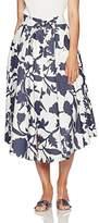 Milly Women's Midi Jackie Skirt