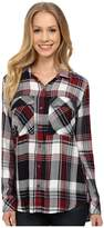 KUT from the Kloth Nora Plaid Utility Blouse