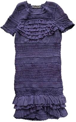 Isabel Marant Purple Silk Dress for Women